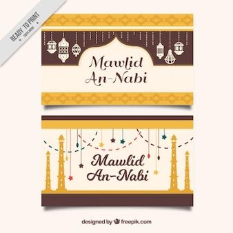 Mawlid's golden vintage cards