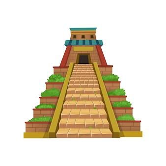 Пирамида майя.