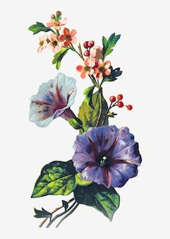 Майские цветы в винтажном стиле