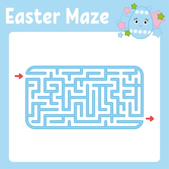 Maze. game for kids. funny labyrinth. activity page. puzzle for children.