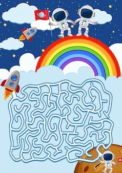 A maze game