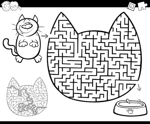 Maze or labyrinth activity