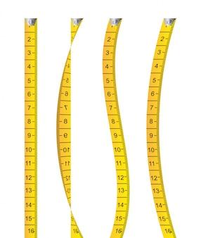 Мера дизайн на белом фоне векторные иллюстрации
