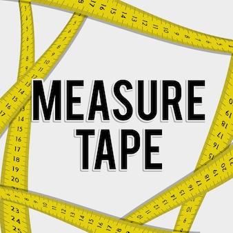 테이프 및 다이어트 측정