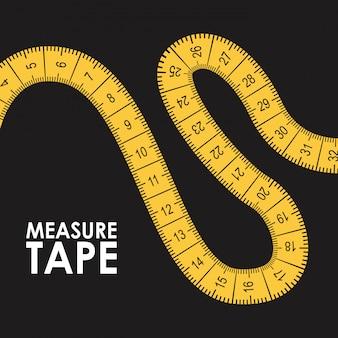 Measure tape design