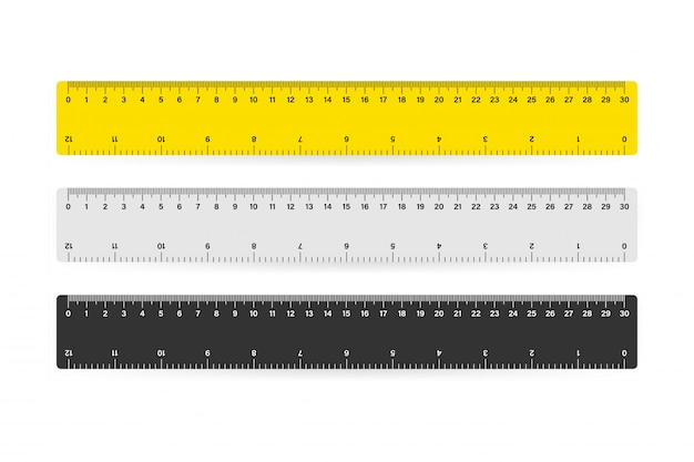 Measure tape ruler school metric measurement.