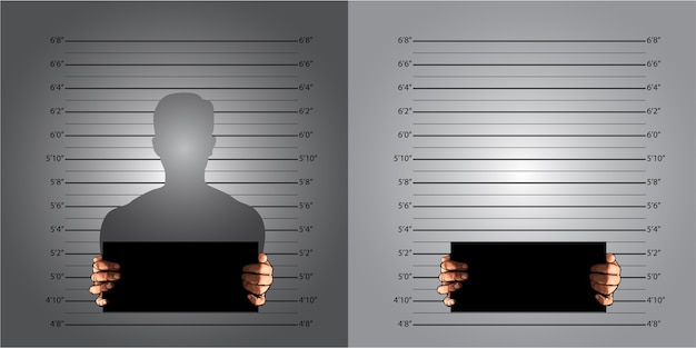 Measuring lines mugshot