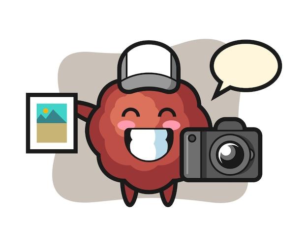 写真家としてのミートボール漫画