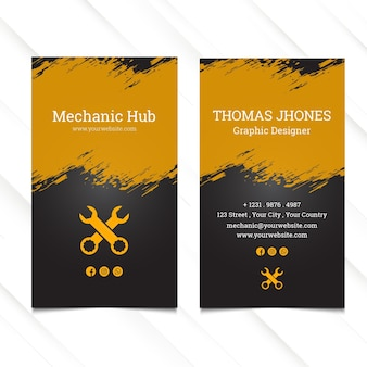 Mechanic hub template