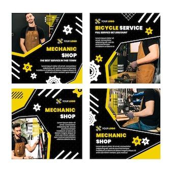 Mechanic instagram posts collection
