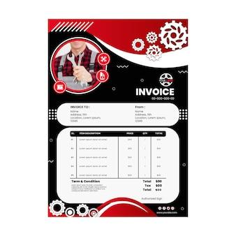Mechanic invoice template