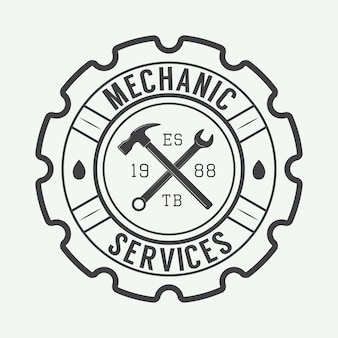 Mechanic label