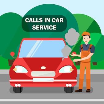 Mechanic, vehicle breakdown