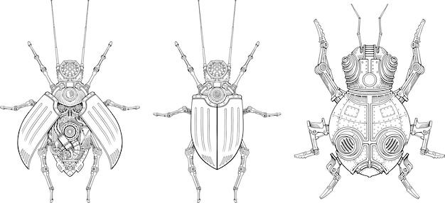 Mechanical beetles