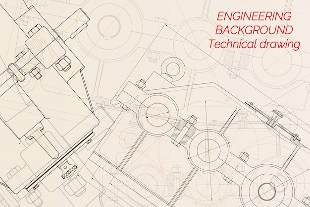 Mechanical engineering drawings