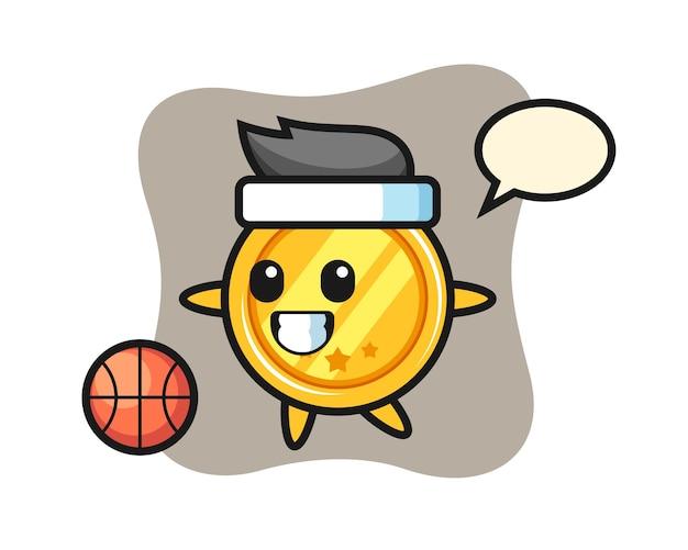 메달 만화 농구