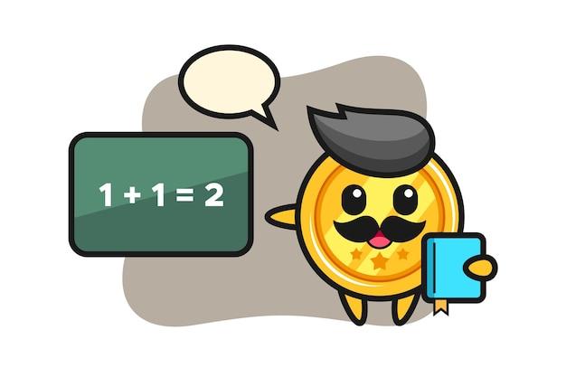 教師としてのメダルキャラクター