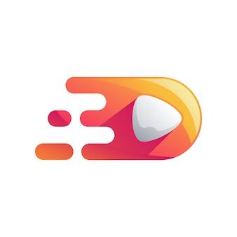 Media logo design