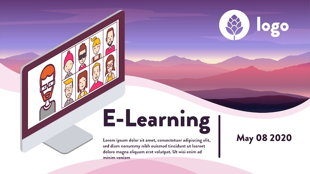 Media social e-learning comunication
