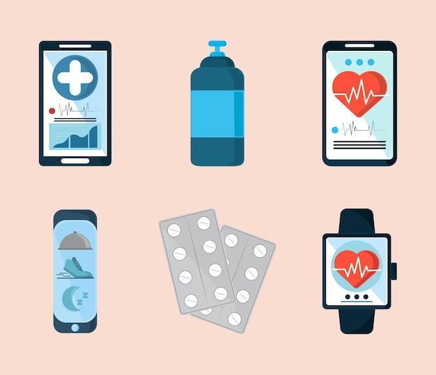 デバイスでの医療アプリケーション