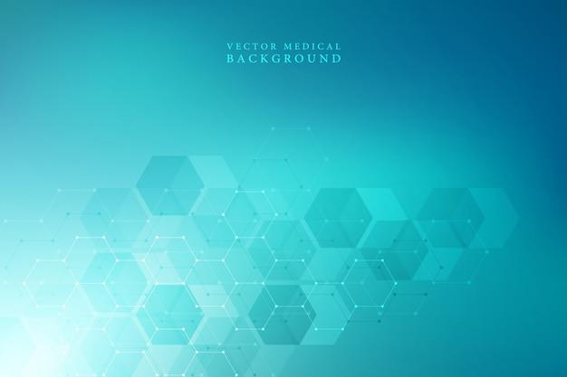 六角形からの医学的背景。