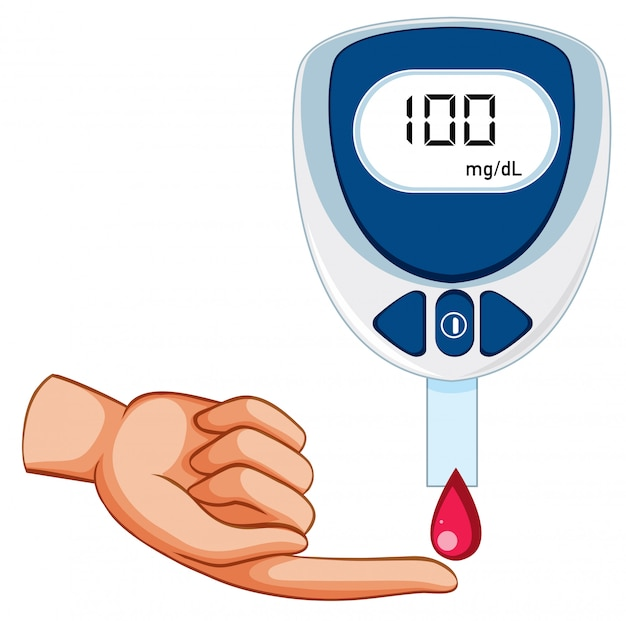 Medical blood glucose measurement