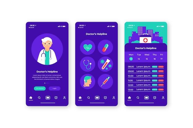 의료 예약 앱 개념