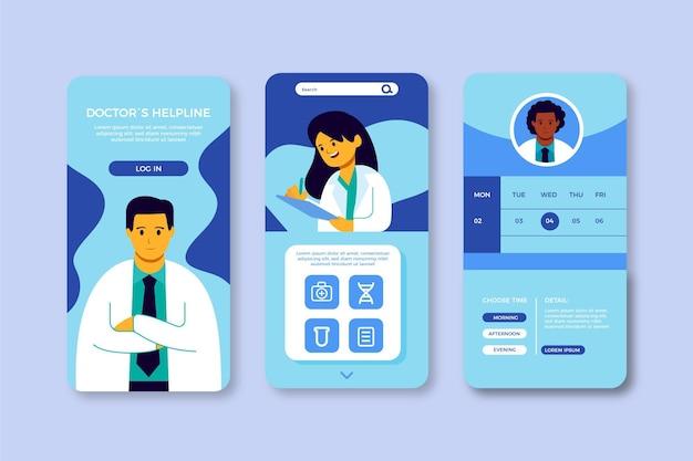 Концепция приложения медицинского бронирования