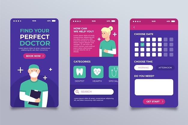 Дизайн приложения медицинского бронирования