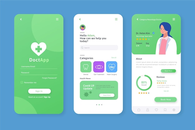 Medical booking app