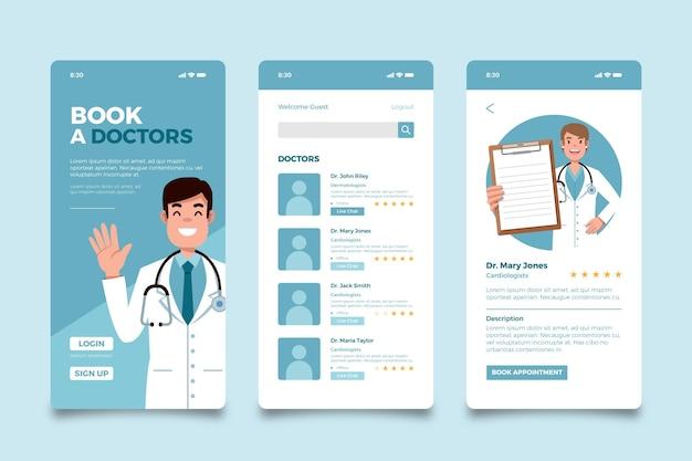 Medical booking app
