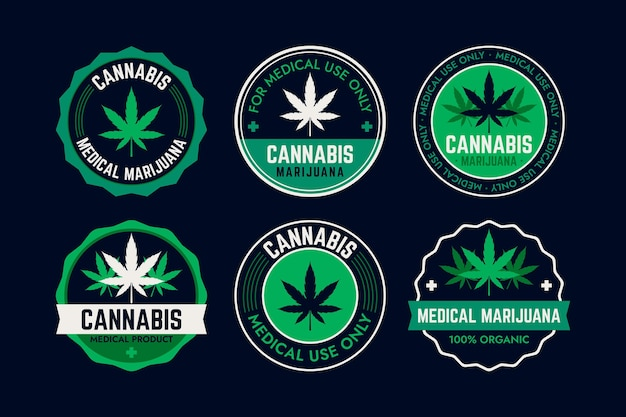 医療大麻バッジ