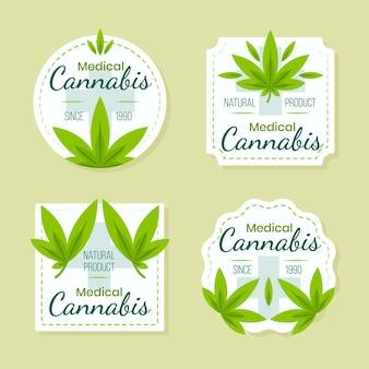 Medical cannabis badges