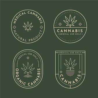 Distintivi di cannabis medica