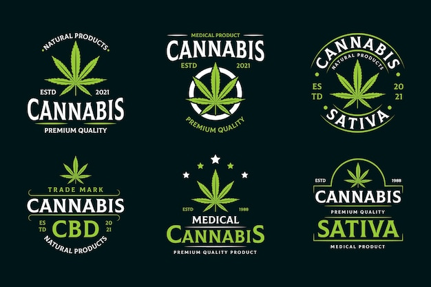 Medical cannabis badges
