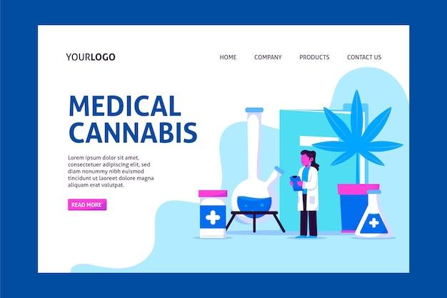 医療大麻-ランディングページ