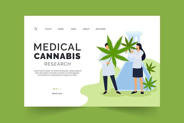 医療大麻研究ウェブテンプレート