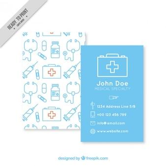 図面と医療カード