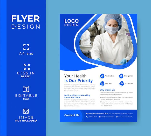 Medical care flyers