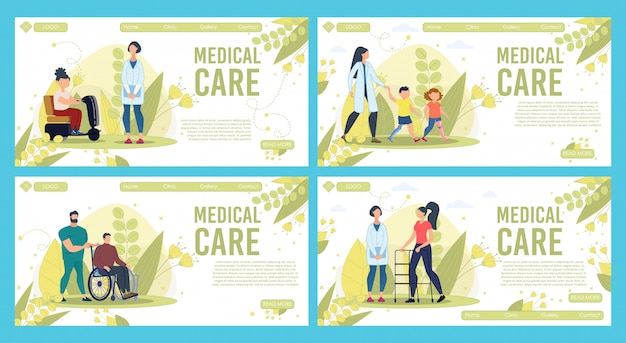 Medical care for injured people
