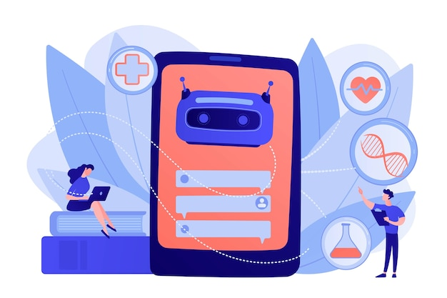 Medical chatbot gives healthcare consultation to patient