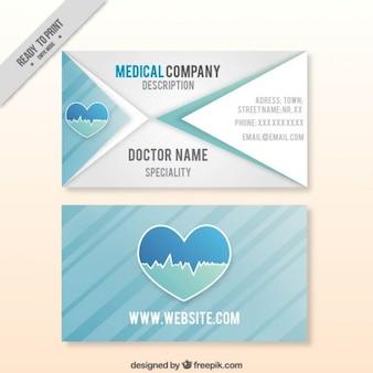 Medical company card