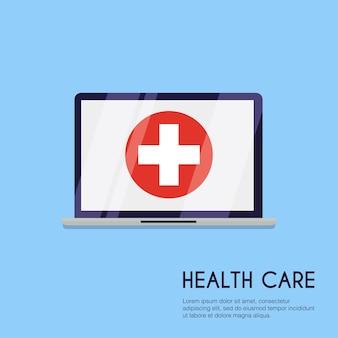 Медицинская концепция иллюстрации