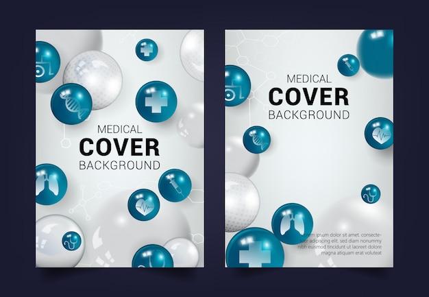 Medical cover background