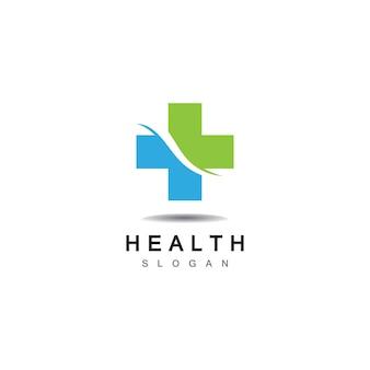 Медицинский крест и аптека логотип вектор шаблон