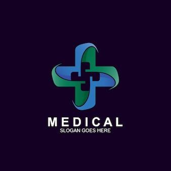 Medical cross logo design