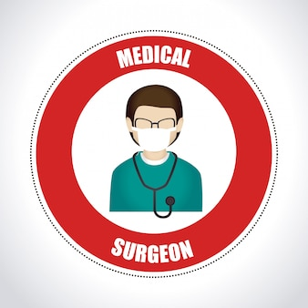 Medical design illustration