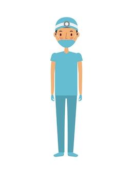 Medical doctor man