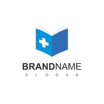 Medical education logo design inspiration