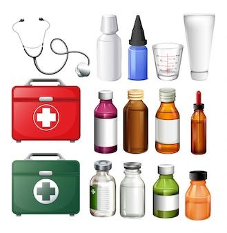 의료 기기 및 컨테이너